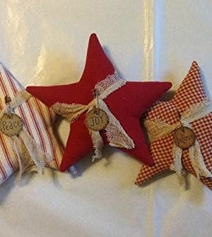 Christmas Star Ornaments 0 300x335