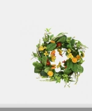 DII Seasonal Interior And Exterior Wreath For Front Door Back Door Or Wall Accent 0 0 300x360