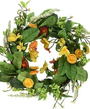 DII Seasonal Interior And Exterior Wreath For Front Door Back Door Or Wall Accent 0 300x360