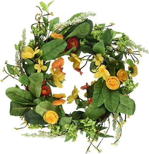 DII Seasonal Interior And Exterior Wreath For Front Door Back Door Or Wall Accent 0