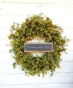 Fall Wreath Door Wreath Door Sign Eucalyptus Wreath Fall Winter Winter Wreath Spring Wreath Farmhouse Wreath Home Decor Housewarming Gift Year Round Wreath Christmas Gift 0 0 300x360