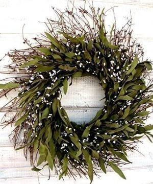 Fall Wreath Winter Wreath Summer Wreath Spring Wreath Rustic Twig Wreath Bay Leaf Wreath Farmhouse Wreath Holiday Decor Christmas Wreath Year Round Wreath Door Wreath Housewarming Gift 0 0 300x360