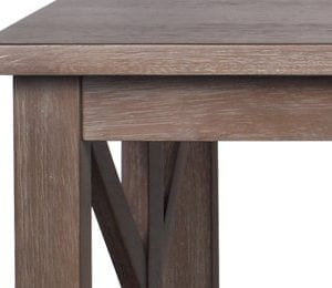 Farmhouse Style Coffee Table Solid Wood Rustic Weathered Gray East End Collection Living Room Furniture 0 2 300x260