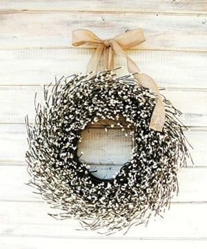 Farmhouse Wreath Fall Wreath Winter Wreath Summer Wreath Farmhouse Decor White Wreath Antique White WreathYear Round Wreath Wedding Dcor Christmas Wreath Housewarming Gift Home Decor 0 300x360