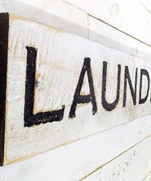 Laundry Sign Carved In A Cypress Board Rustic Distressed Shop Advertisement Farmhouse Style Room Wooden Wood Rustic Decoration 0 0 300x360