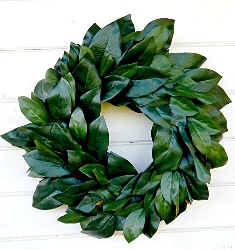 Magnolia Wreath Farmhouse WreathWinter WreathSpring WreathSummer Wreath Farmhouse Home Decor Housewarming Gift Door WreathsFixer Upper Decor Christmas Wreath Housewarming Gift 0 0