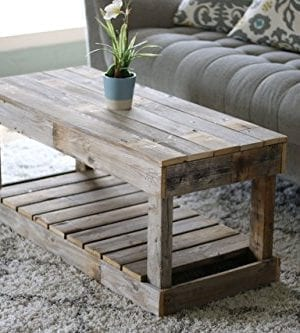 Natural Slatted Bottom Coffee Table 0 300x333