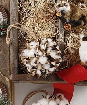 Raz 45 Cotton Ball Christmas Ornament 3602342 0 300x360
