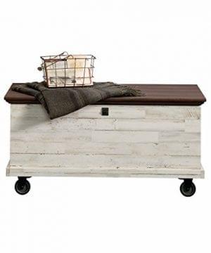 Sauder 419590 Eden Rue Rolling Chest White Plank 0 300x360