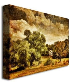 Trademark Fine Art Old Farm House By Lois Bryan Canvas Wall Art 0 0 300x360