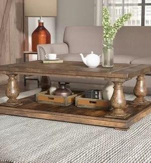 Chunky Farmhouse Coffee Tables