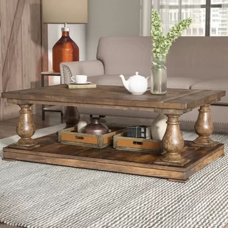 Chunky Farmhouse Coffee Tables