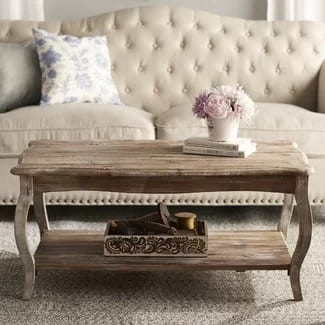 lark manor farmhouse coffee table