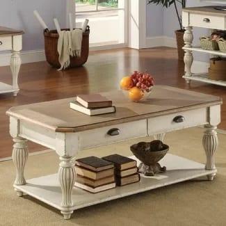 lark manor quevillon coffee table