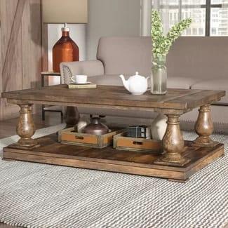 laurel foundry farmhouse gladiola coffee table