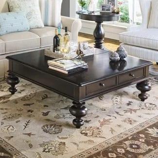 paula deen home put your feet up coffee table