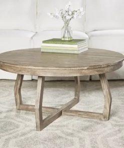 Round Farmhouse Coffee Tables
