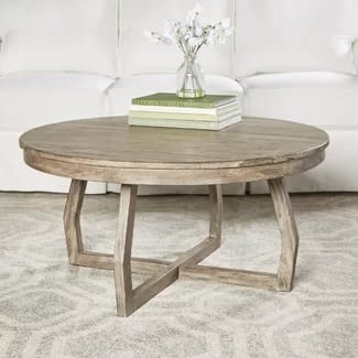 Round Farmhouse Coffee Tables