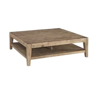 savannah brown coffee table