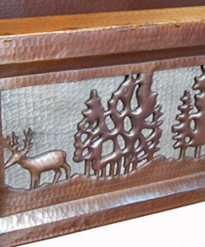 Apron Front Farmhouse Kitchen Mexican Copper Sink Pine Deer 0 1 300x360