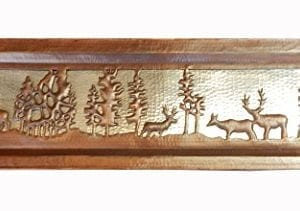 Apron Front Farmhouse Kitchen Mexican Copper Sink Pine Deer 0 2 300x211