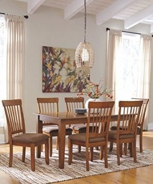 Ashley Furniture Signature Design Berringer Rectangular Dining Room Table Vintage Casual Rustic Brown 0 0 300x360
