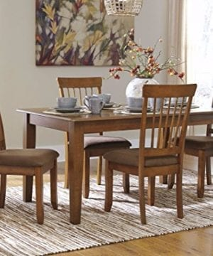 Ashley Furniture Signature Design Berringer Rectangular Dining Room Table Vintage Casual Rustic Brown 0 300x360