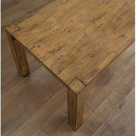 Better Homes And Gardens Bryant Dining Table Rustic Brown 0 1