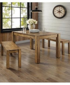 Better Homes And Gardens Bryant Dining Table Rustic Brown 0 2 300x360