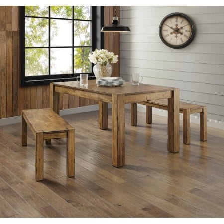 Better Homes And Gardens Bryant Dining Table Rustic Brown 0 2