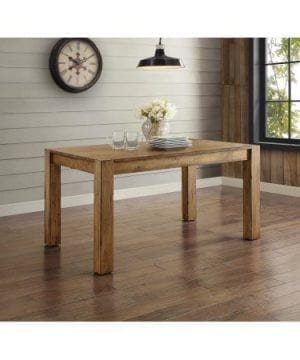 Better Homes And Gardens Bryant Dining Table Rustic Brown 0 300x360