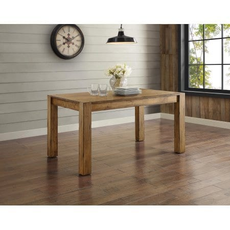 Better Homes And Gardens Bryant Dining Table Rustic Brown 0