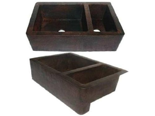 Farmhouse-7525-Apron-Copper-Sink-Dark-Standard-33x22x9-0