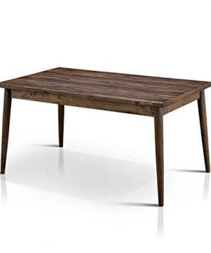 HOMES Inside Out IDF 3371T Velasco Dining Table Natural Tone Valesco Modern 0 300x360