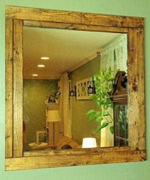Renewed Dcor Farmhouse Mirror In 20 Stain Colors Large Wall Mirror Rustic Modern Home Home Decor Mirror Housewares Woodwork Frame Stained Mirror Available In 3 Sizes 0 1 300x360