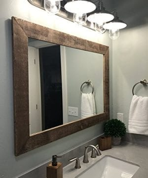 Renewed Dcor Shiplap Reclaimed Wood Mirror In 20 Stain Colors Large Wall Mirror Rustic Modern Home Home Decor Mirror Housewares Woodwork Frame Stained Mirror 0 300x360