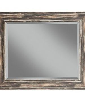 Sandberg Furniture Farmhouse Full Length Leaner Mirror Antique Turquoise 0 0 300x360