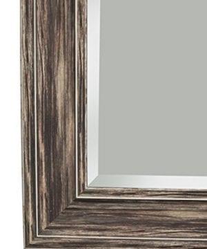 Sandberg Furniture Farmhouse Full Length Leaner Mirror Antique Turquoise 0 2 300x360