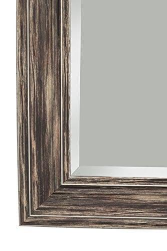 Sandberg Furniture Farmhouse Full Length Leaner Mirror Antique Turquoise 0 2