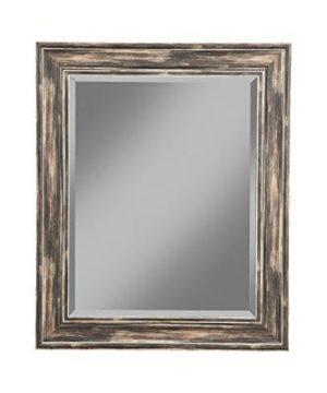 Sandberg Furniture Farmhouse Full Length Leaner Mirror Antique Turquoise 0 300x360