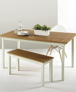 Zinus Farmhouse Large Wood Dining Table 0 3 300x360