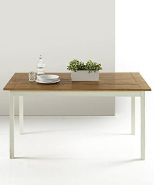 Zinus Farmhouse Large Wood Dining Table 0 300x360