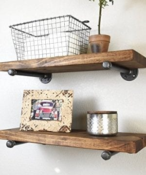 725 Deep X 24 Long Industrial Floating Rustic Farmhouse Shelf Kitchen And Bathroom Shelf Coffee Bar Shelf Nursery Shelf 0 300x360