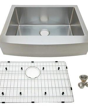Auric Sinks 27 Farmhouse Front Apron Single Bowl Sink 0 300x360