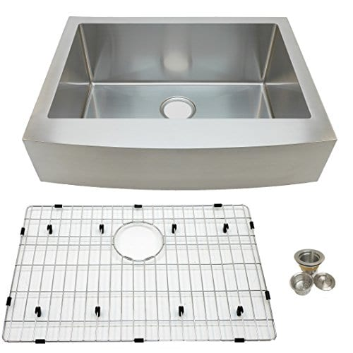 Auric Sinks 27 Farmhouse Front Apron Single Bowl Sink 0