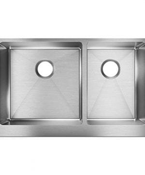 Elkay Crosstown ECTRUF32179R 6040 Double Bowl Farmhouse Stainless Steel Kitchen Sink 0 300x360