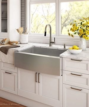Kraus KHF203 36 36 Inch Farmhouse Apron 6040 Double Bowl 16 Gauge Stainless Steel Kitchen Sink 0 1 300x360
