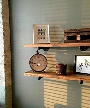 Rustic Floating Shelves Industrial Shelving Floating Wall Shelf Wood Floating Shelves Wooden Wall Shelf Long Floating Shelf Mantel Shelf Farmhouse Shelving Shelves Wall Mounted 0 0 300x360