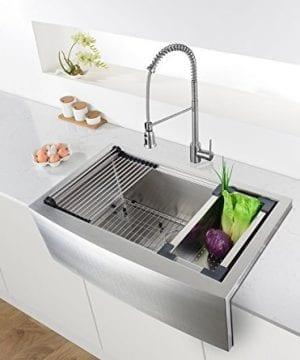 Ruvati Apront Front 16 Gauge Kitchen Sink Single Bowl 0 1 300x360