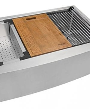 Ruvati Apront Front 16 Gauge Kitchen Sink Single Bowl 0 2 300x360